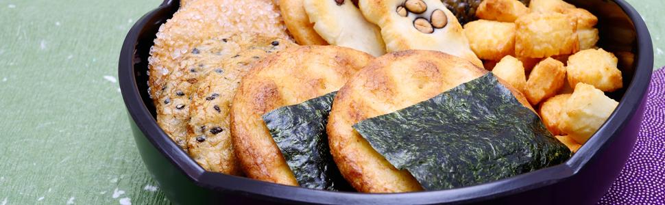 Rice crackers japanese