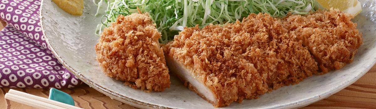 Japanese panko bread crumbs