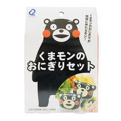 Kumamon rice mould set pack