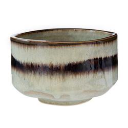 Matcha bowl brown stripe