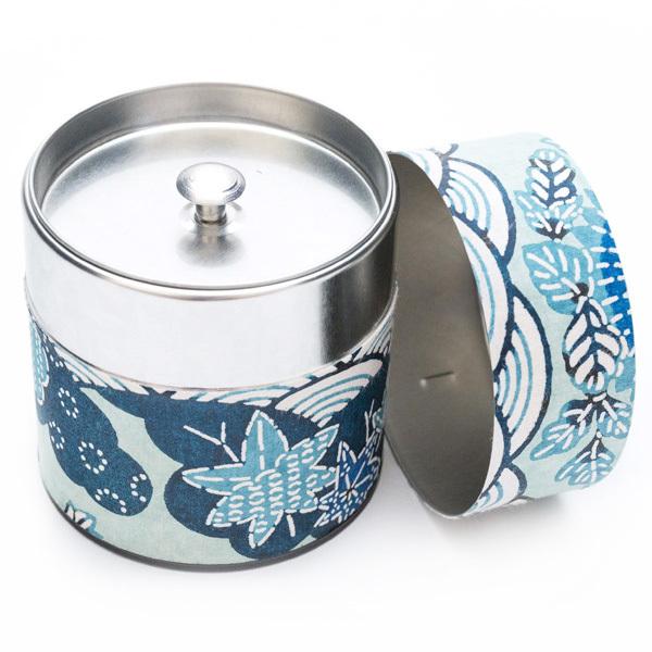 10623 tea canister blue nat