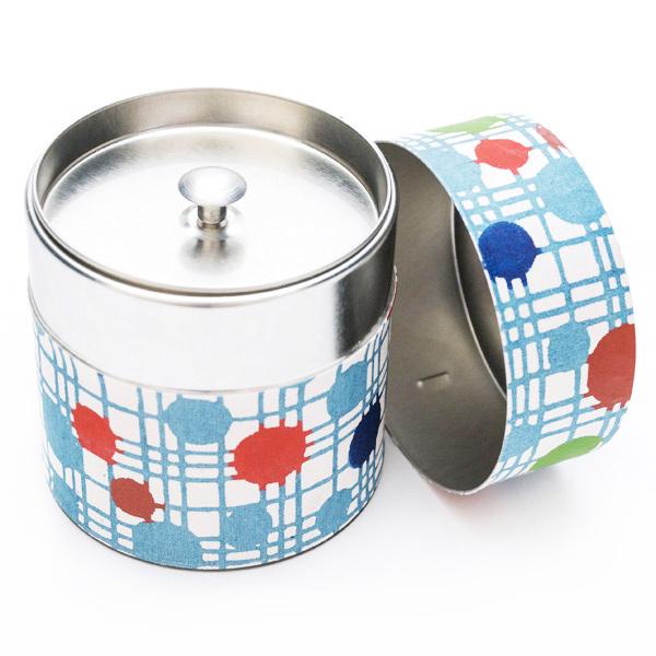10620 tea canister polka do