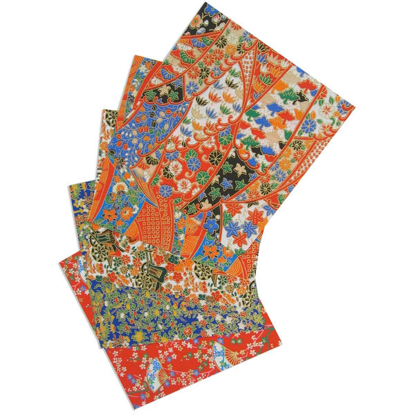 171 yuzen chiyogami origami