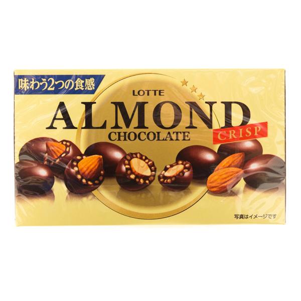 10684 lotte crispy almond chocolates