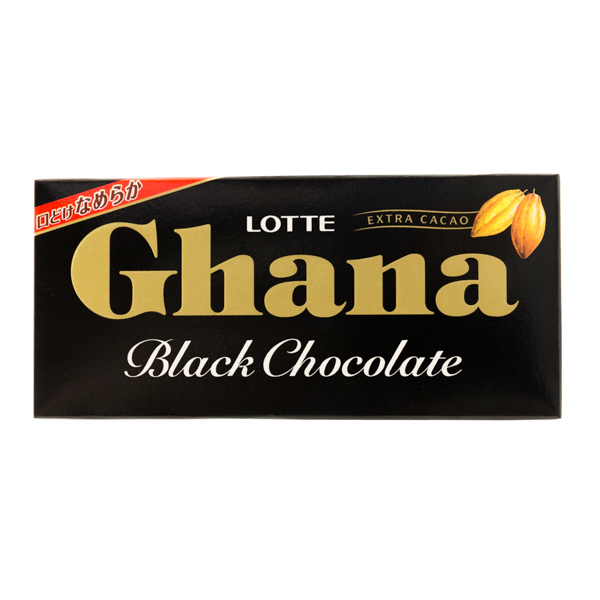 10698 lotte ghana black chocolate
