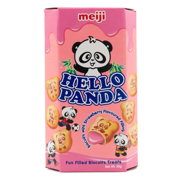 3098 hello panda strawberry
