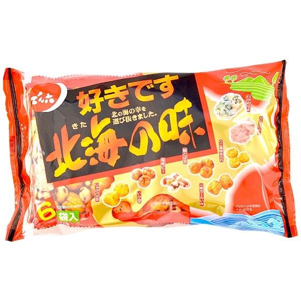 413 hokkai no aji rice crackers