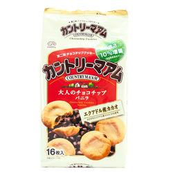 10969 fujiya country maam vanilla choc chip cookies