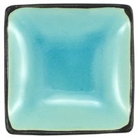 Ceramic Soy Sauce Dish  Light Blue