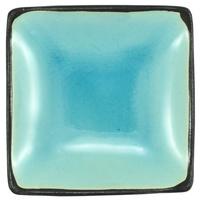 Ceramic Soy Sauce Dish  Light Blue