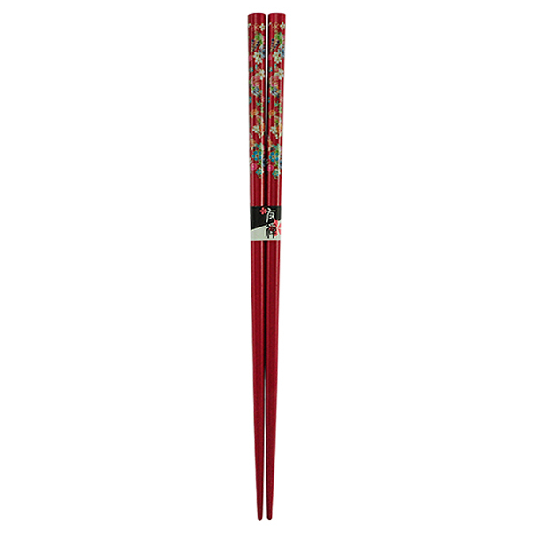11255 chopsticks red flower