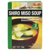 S&B Instant Miso Soup Shiro
