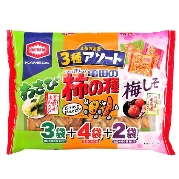 11393 kamedaseika kaki no tane assorted