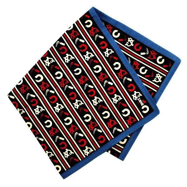 11419 furoshiki cloth navy hiragana