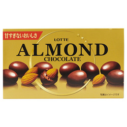 477 lotte chocolate almonds