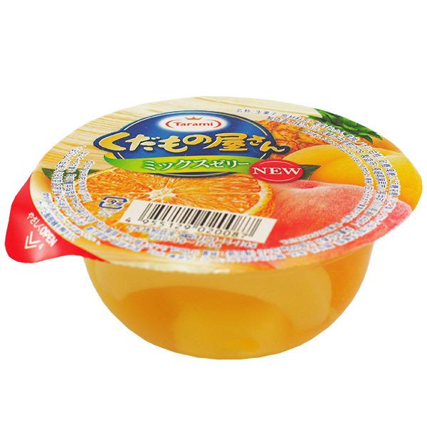 11518 tarami mixed fruit jelly small side