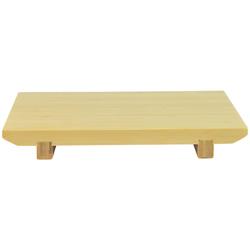 4150 bamboo sushi tray fron