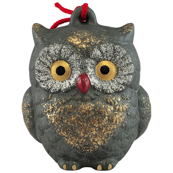 Kimura oshido owl figurine