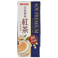 Marusanai Black Tea Premium Soy Milk Drink