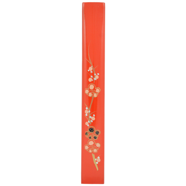 11788 chopstick case red flower pattern