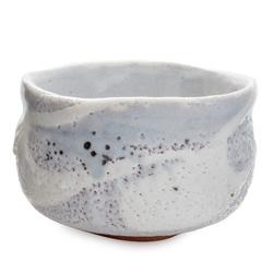 11727 ceramic matcha bowl periwinkle pinhole