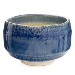 11731 ceramic matcha bowl blue watercolour wash