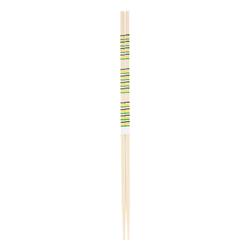 11888 wooden cooking chopsticks green yellow black stripe