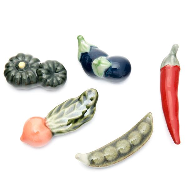 11645 ceramic chopstick rests mixed vegetables