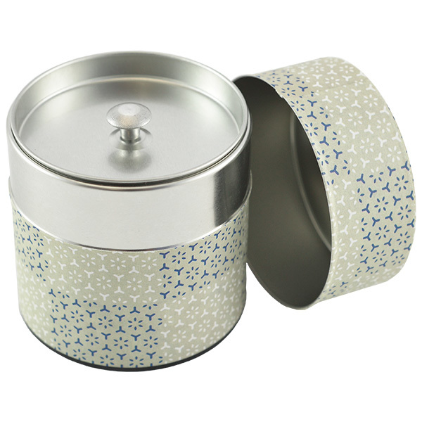 11947 tea canister light green open