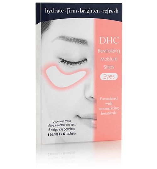 Revitalizing moisture strips   eyes
