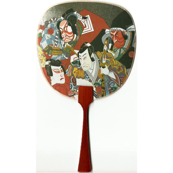 12187 kabuki actors fan card
