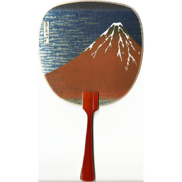 12185 hokusai mt fuji on fine day fan card