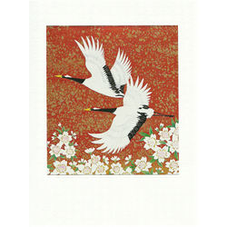 12588 crane greeting card