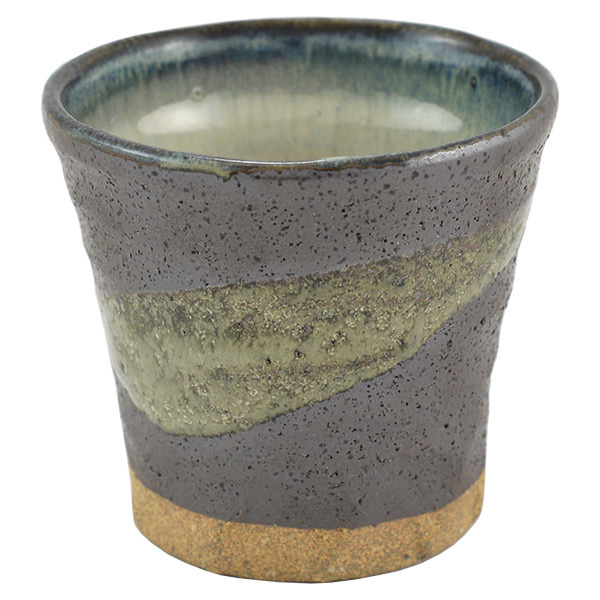 11612 ceramic cup grey with blue