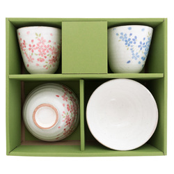 12311 ceramic bowl teacup set box