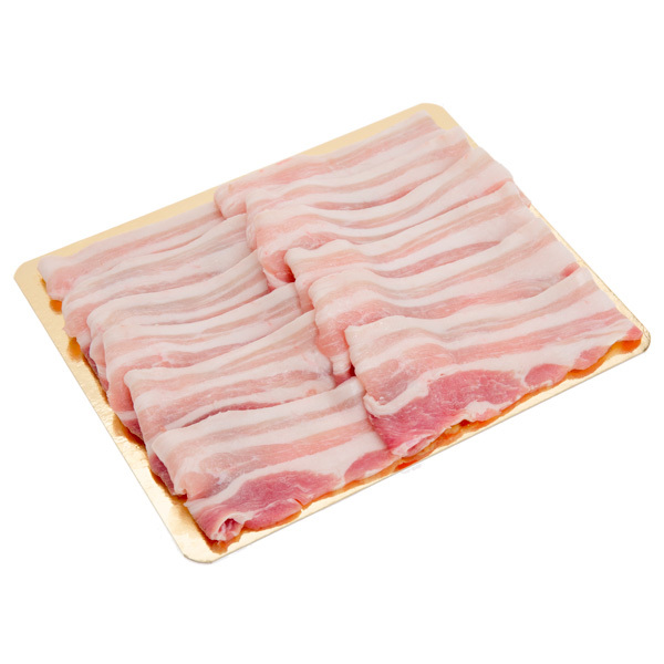 12617 sliced pork belly