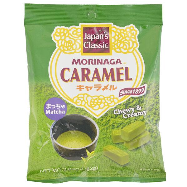 japan centre morinaga matcha caramel chewy candy candy