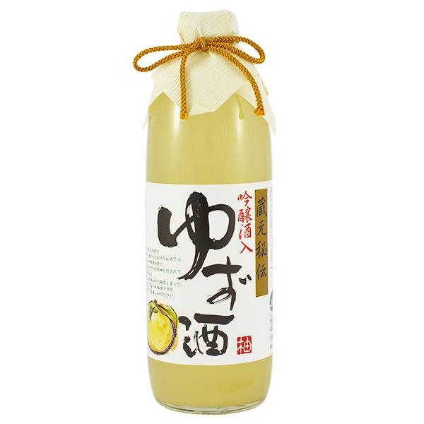 12762 miyashita ginjo yuzu liqueur