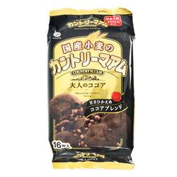 12828 fujiya country maam cocoa chocolate chip cookies
