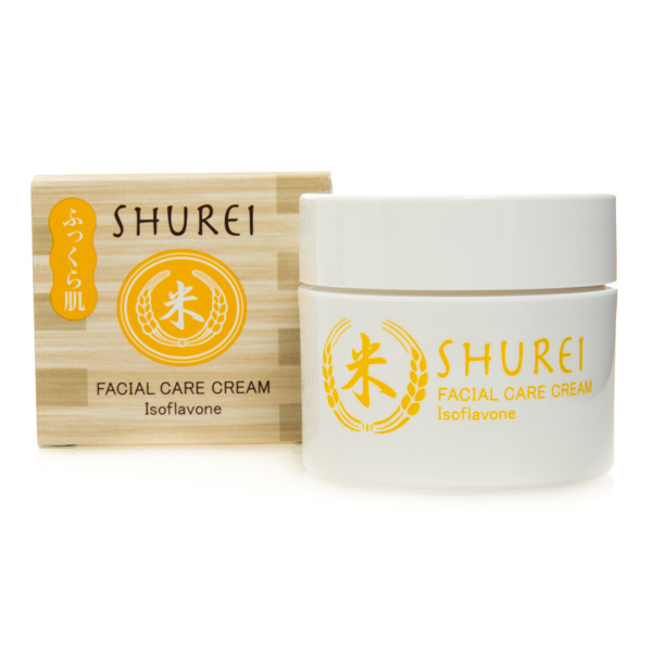 12855 naris shurei facial care cream isoflavone