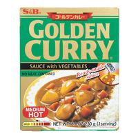 S&B Instant Golden Curry Sauce Medium Hot