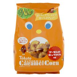 12909 tohato caramel corn roast almond caramel snacks