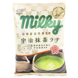 13029 fujiya uji matcha latte milkly chewy candy