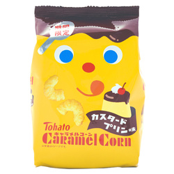 13032 tohato caramel corn custard pudding snacks