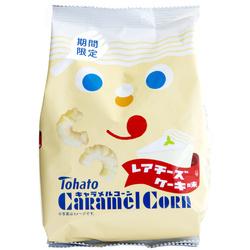 13033 tohato caramel corn rare cheesecake snacks