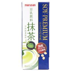 13037 marusanai uji matcha premium soy milk drink