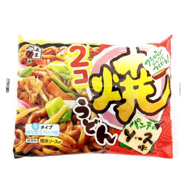 2002 itsuki precooked stir fried brown sauce udon
