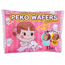 13210 fujiya peko chocolate and vanilla wafers
