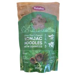 13214 yutaka gluten free and organic yam cake konnyaku shirataki noodles