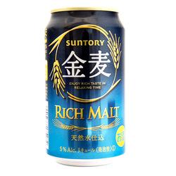 13260 sutory kinmugi rich malt beer